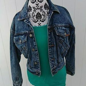 Jordache Jean Denim  stylish Jacket  size 8